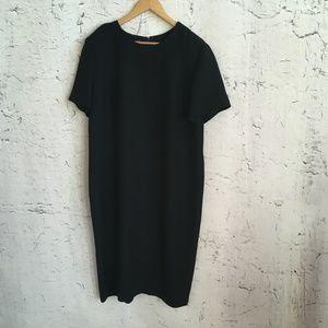 LESLIE FAY BLACK SHORT SLEEVE DRESS 18